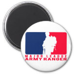 Major League Army Ranger 2 Inch Round Magnet
