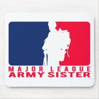 Major League Army Sister Mouse Pad