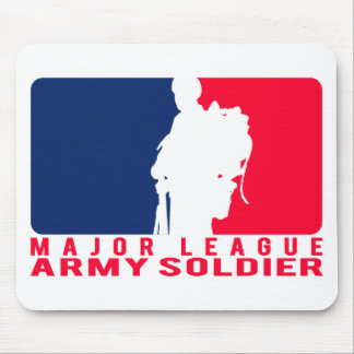 Major League Army Soldier Mouse Pad
