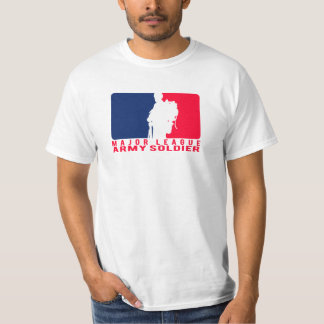 Major League Army Soldier T Shirt
