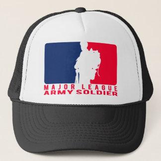 Major League Army Soldier Trucker Hat