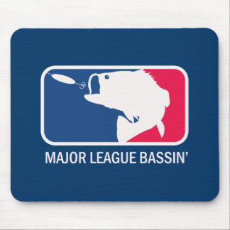 Major League Bassin Largemouth Bass Angler Mouse Pad