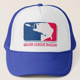 Major League Bassin Largemouth Bass Angler Trucker Hat