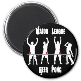 Major League Beer Pong Kegerator Magnet