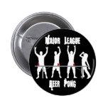 Major League Beer Pong Pin