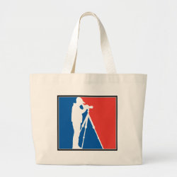 Jumbo Tote Bag with Major League Birder design