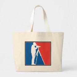Jumbo Tote Bag with Major League Birder design