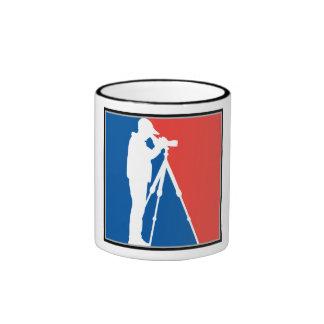 Major League Birder Ringer Mug
