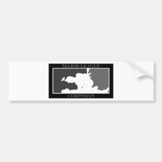 major league corpsman swat bumper sticker