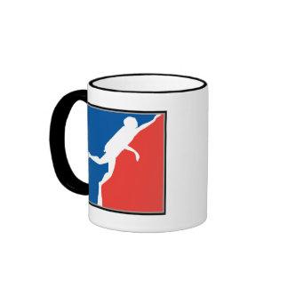 Major League Diver Ringer Coffee Mug Ringer Mug <  < Scuba Diving T-Shirts & Gifts