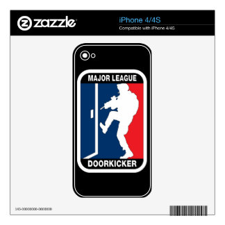 Major League Door Kicker Skin iPhone 4 Skins For The iPhone 4