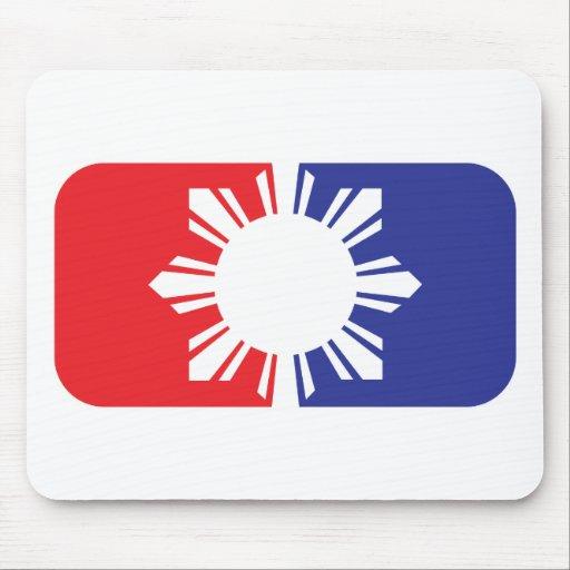 Major League Filipino Flag - Full Mouse Pad