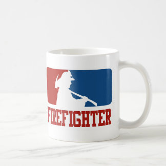 Major League Firefighter Coffee Mug