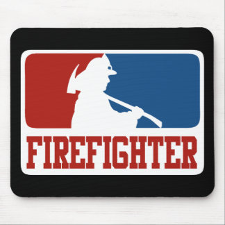 Major League Firefighter Mouse Pad