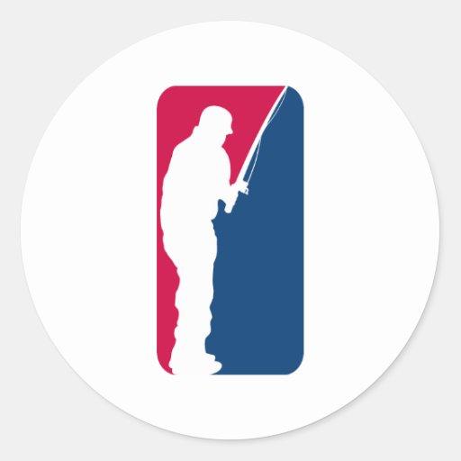 Major league fishing classic round sticker zazzle for Major league fishing shop