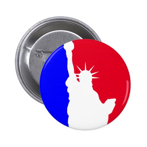 Major League Freedom 2 Inch Round Button