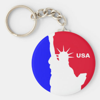 Major League Freedom Keychain