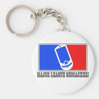 Major League Geocacher Keychain