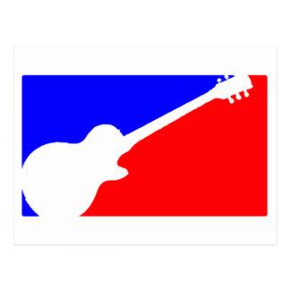 Major League Guitarist Postcard