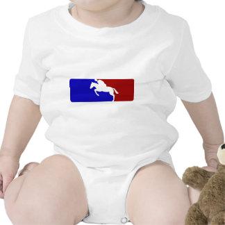 Major League Horse Racing Baby Bodysuits