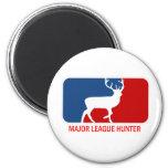 Major League Hunter Fridge Magnet