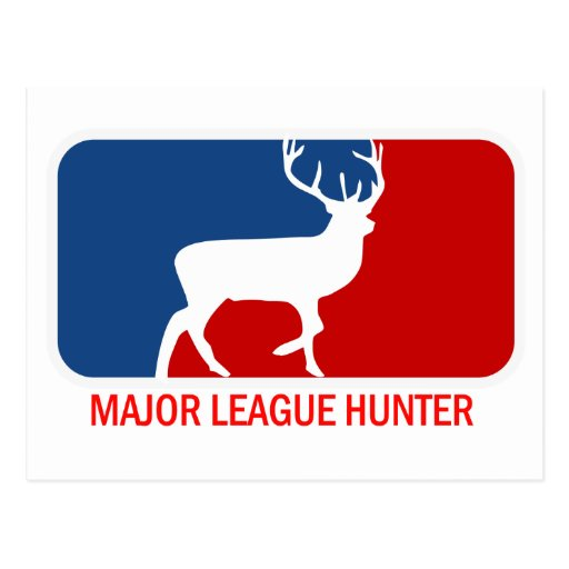 Major League Hunter Postcard