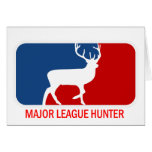 Major League Hunter Stationery Note Card