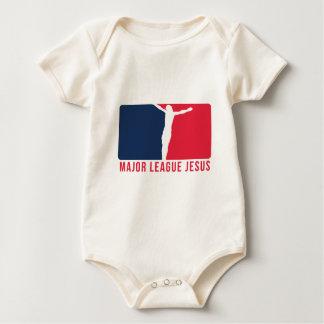 Major League Jesus 1 Romper