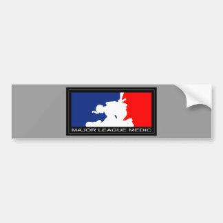 Major League Medic Car Bumper Sticker