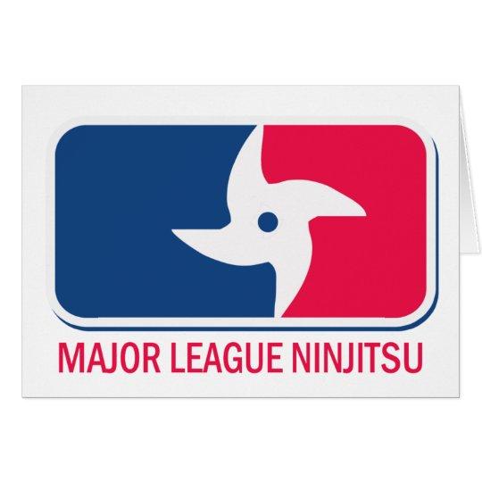 Major League Ninjitsu Card