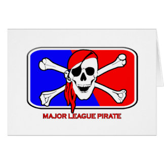 Major League Pirate Card
