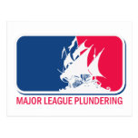 Major League Plundering Post Cards