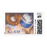 Major League © Postage Stamp