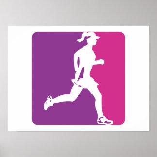 Major League Running Poster