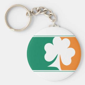 Major League Shamrock - Irish Colors Keychain
