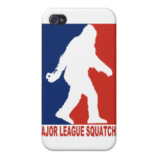 Major League Squatchin i Cover For iPhone 4
