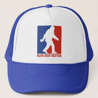 Major League Squatchin Sasquatch Mesh Trucker Hat