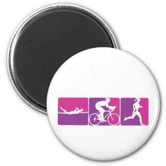 Major League Triathlon Magnet