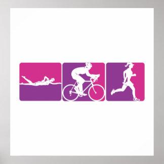 Major League Triathlon Poster