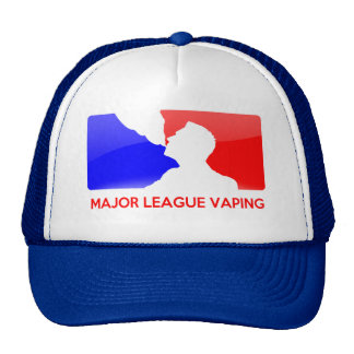 Major League Vaping Cap Trucker Hat