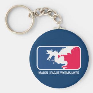 Major League Wyrmslayer Keychains