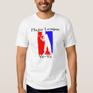 Major League Yo-Yo White T Shirt