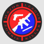 Major League Zombie Killer - weapons Stickers