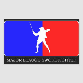 Major Leauge Swordfighter sticker