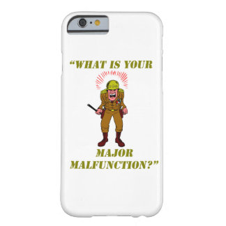 Major Malfunction Barely There iPhone 6 Case