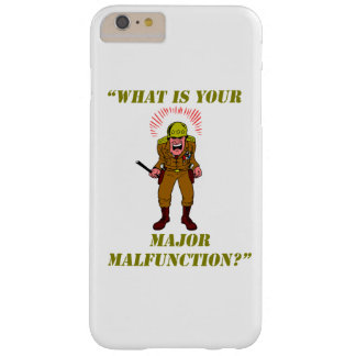 Major Malfunction Barely There iPhone 6 Plus Case
