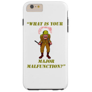 Major Malfunction iPhone 6 Plus Case
