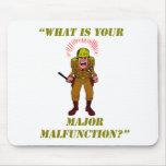 Major Malfunction Mousepad