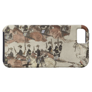 Major Marcus Reno's retreat before the Indian coun iPhone SE/5/5s Case