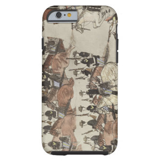 Major Marcus Reno's retreat before the Indian coun iPhone 6 Case